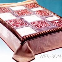 """Плед для кровати """"Решетка"""" Китай"""
