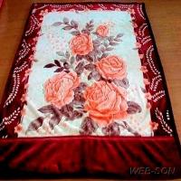 """Покрывало с розами """"Bor"""" Tomilon Китай"""