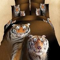 КПБ Beliy Tigr (3D-печать) в подарочной коробке