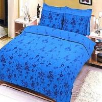 """Белье jardin """"Consuello blue"""" сатин 1.5"""
