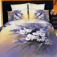 """Постельное белье орхидея """"Orhidei"""" сатин 3D"""