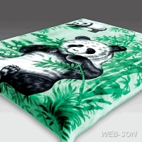 "Плед с пандой ""Panda"" акрил Китай"