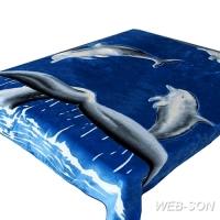 "Покрывало с дельфином ""Delfino"" Tomilon"