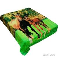 Покрывало с лошадью