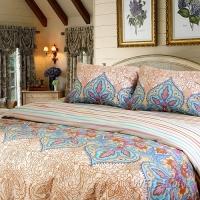 """Постельное белье на двуспальную кровать """"Indra 1"""" поплин"""