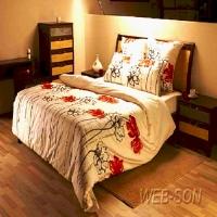 """Свадебный постельный комплект """"Aroma 4 """" дуэт Comfort Line"""