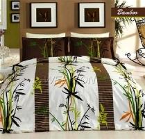"""Постельное белье green """"Bamboo"""" Mariposa сатин-премиум евро"""