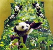"Белье 3D ""Panda"" сатин Repablic"