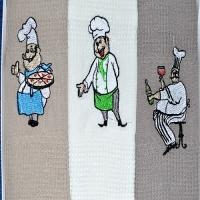 """Полотенца для кухни """"Fidella"""" Tem Tekstil, Турция"""