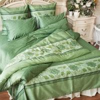 """Постельное белье зеленое """"Green 3"""" balimena"""