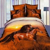Постельное белье лошади