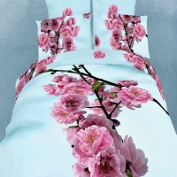 Постельное белье с сакурой