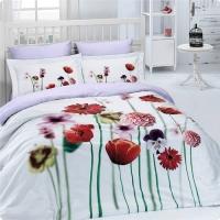 Постельное белье с тюльпанами
