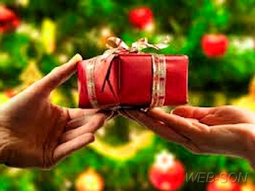 Новогодние подарки для покупателей магазина. Скидочная карта в подарок.