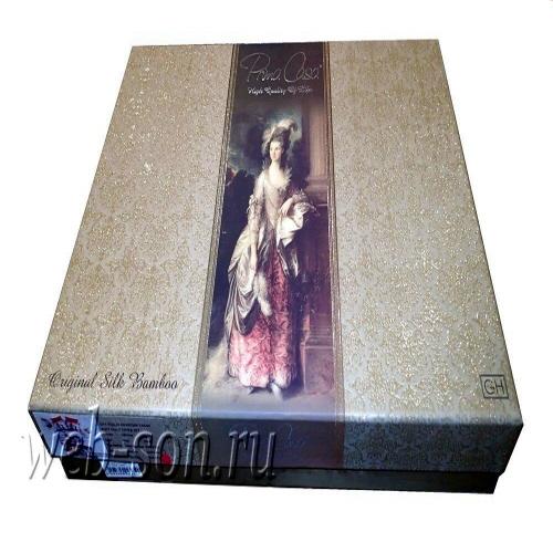 Подарочная упаковка новых дизайнов турецких комплектов из бамбука.